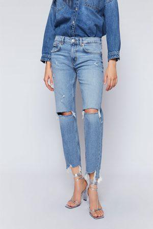 Zara Slim-boyfriend-jeans zw premium in beach blue