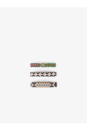 Zara 3er-set geflochtene armbänder