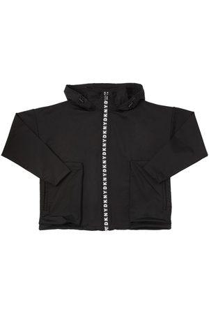DKNY Sweatshirt Aus Nylonjersey