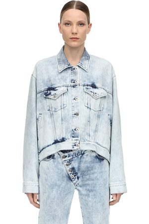 MARQUES'ALMEIDA Oversize Cotton Denim Jacket