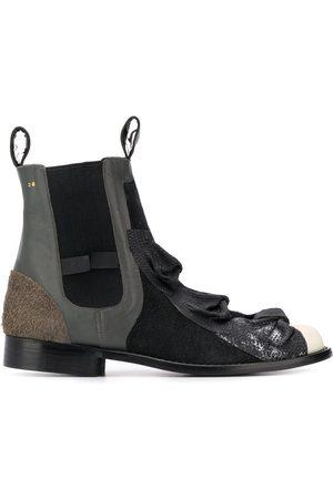 Comme Des Garçons Pre-Owned 1990 Chelsea-Boots mit Schleife