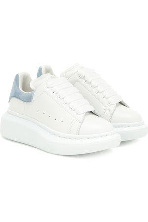 Alexander McQueen Kids Sneakers aus Leder