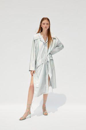 Zara Trenchcoat in metalloptik – limited edition