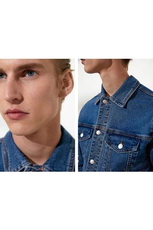Zara Bequeme jeansjacke
