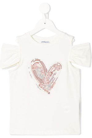 Simonetta T-Shirt mit Cold Shoulder