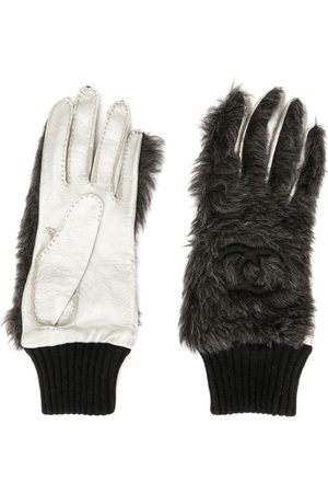 CHANEL Handschuhe mit CC-Logos