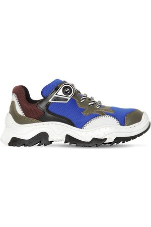 Nº21 Sneakers Aus Leder Und Mesh