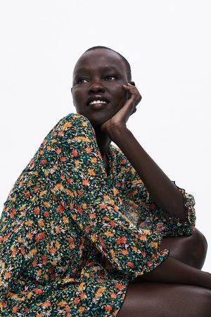 Zara Kleid mit blumenmuster
