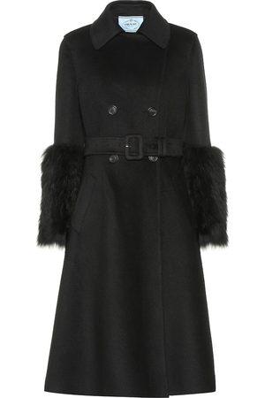Prada Mantel aus Wolle und Angora