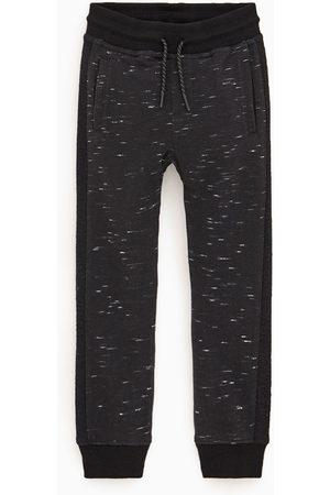 Zara Jerseyhose mit seitenstreifen