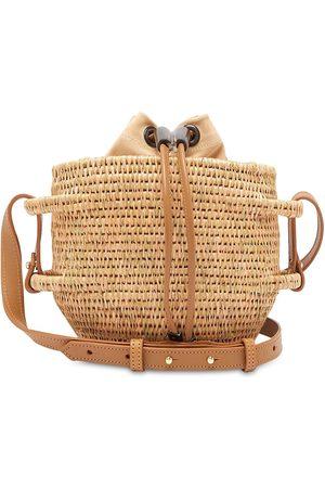 KHOKHO Damen Umhängetaschen - Thembi Woven Basket Bag
