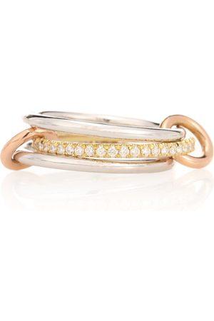 SPINELLI KILCOLLIN Ring Sonny MX aus 18kt Weiß- und Gelbgold mit weißen Diamanten
