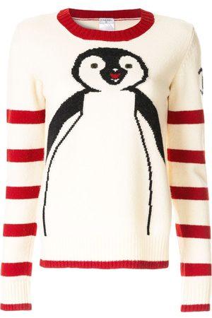CHANEL Damen Pullover - Pullover mit Pinguin