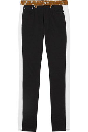 Burberry Gerade Jeans mit Print