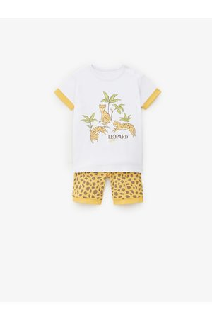 Zara Schlafanzüge - Schlafanzug mit leopardenprint