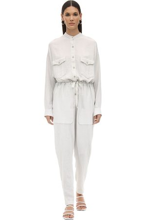 Isabel Marant Jaya Desert Cotton Jumpsuit