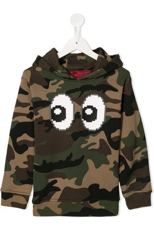 MOSTLY HEARD RARELY SEEN Kapuzenpullover mit Camouflage-Print