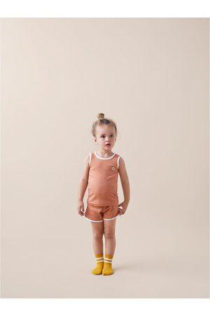 Zara Pyjama mit rippenmuster und etikett