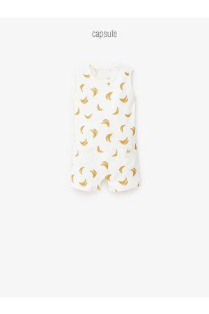 Zara Pyjama mit bananenmuster