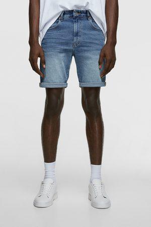 Zara Herren Bermuda Shorts - Basic-bermudashorts