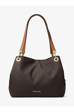 Michael Kors Damen Handtaschen - Schultertasche Raven Mit Logo