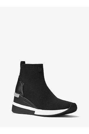 Michael Kors Sneaker Skyler Aus Stretch-Gewebe In Sockenoptik