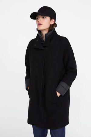 Zara Mantel mit steppdetail