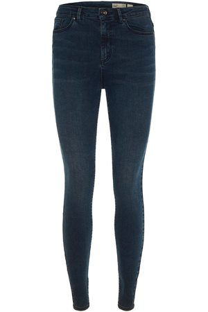 Vero Moda High Waist Skinny Fit Jeans Damen Black; Blue