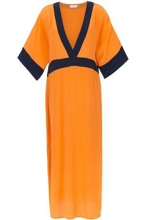 Brigitte Damen Strandmode - Strandkleid aus Seide