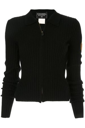 Chanel Pre-Owned Gerippter Cardigan