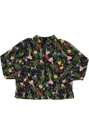 VIVETTA Floral Print Light Viscose Flannel Shirt
