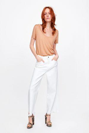 Zara Damen T-Shirts, Polos & Longsleeves - Basic-shirt