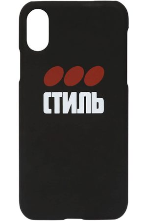 Heron Preston Ctnmb Print Tech Iphone Xs Cover