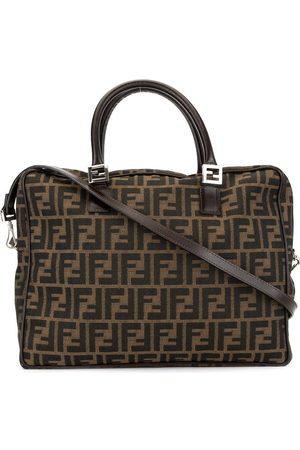 """Fendi Pre-Owned Damen Handtaschen - Handtasche mit """"Zucca""""-Muster"""