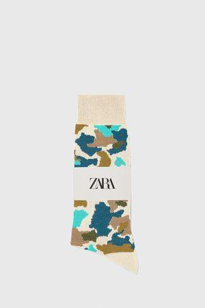 Zara Herren Socken & Strümpfe - Merzerisierte socken mit camouflage-jacquardmuster