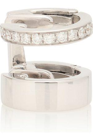 Repossi Ear Cuff Berbere Module aus 18kt Weißgold mit weißen Diamanten