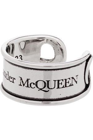 Alexander McQueen Ring mit Gravur
