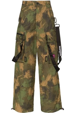 OFF-WHITE Cargohose mit Camouflage-Print