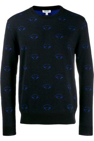 Kenzo Pullover mit Augenmuster
