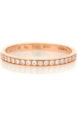 Repossi Ring Berbere XS aus 18kt Rosé mit weißen Diamanten
