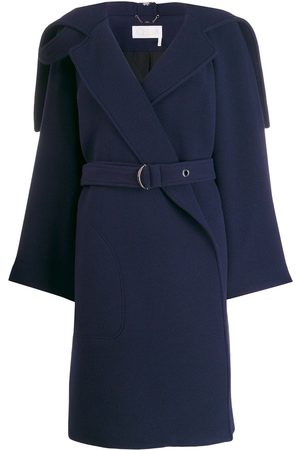 Chloé Damen Mäntel - Gewickelter Mantel mit Gürtel