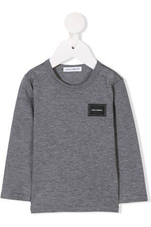 Dolce & Gabbana Langarmshirt mit Logo