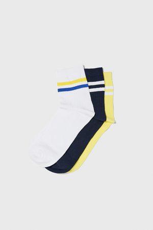 Zara Herren Socken & Strümpfe - Set aus rippenstricksocken mit streifen