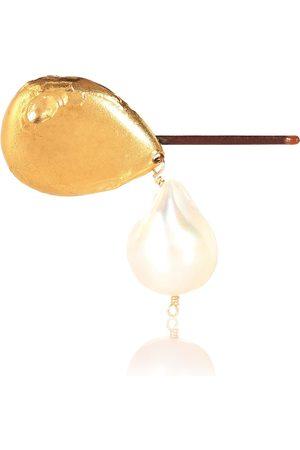 Alighieri Haarspange Apollos Dance mit 24kt Goldauflage und Perlen