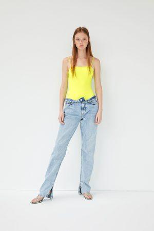 Zara Body in neonfarbe