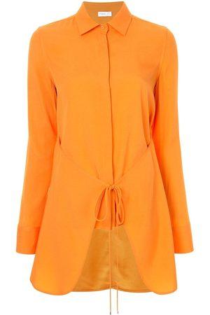 ROSETTA GETTY Damen Blusen - Gewickeltes Hemd