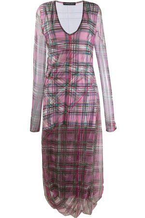 Y / PROJECT Kariertes Kleid