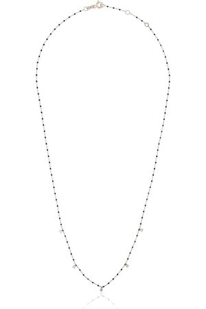 GIGI CLOZEAU 18kt Goldhalskette mit Diamanten