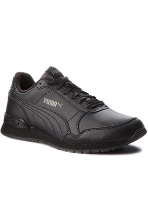Puma Sneakers - St Runner V2 L Jr 366959 01 Black/Dark Shadow