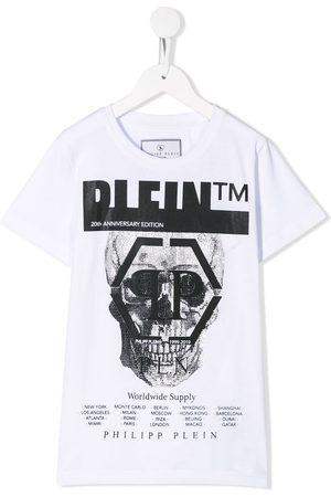 Philipp Plein T-Shirt mit Totenkopf-Print